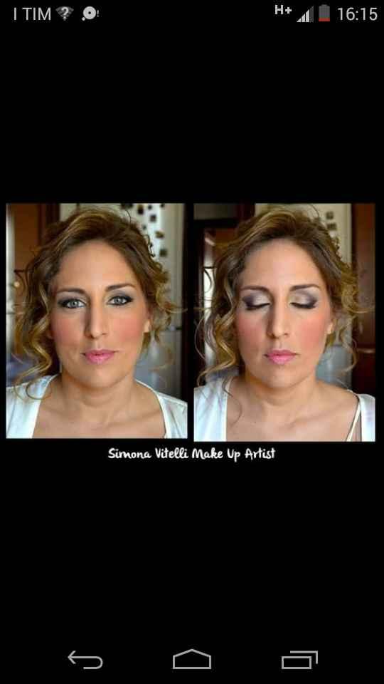 Make up artist consigliatissima