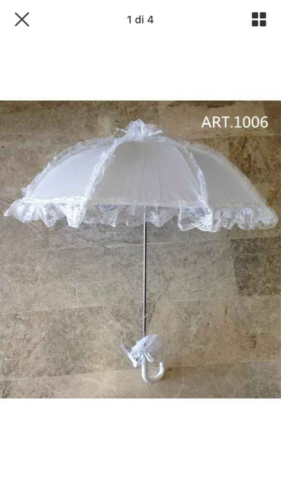 Chi avrà l'ombrellino da sposa? - 1
