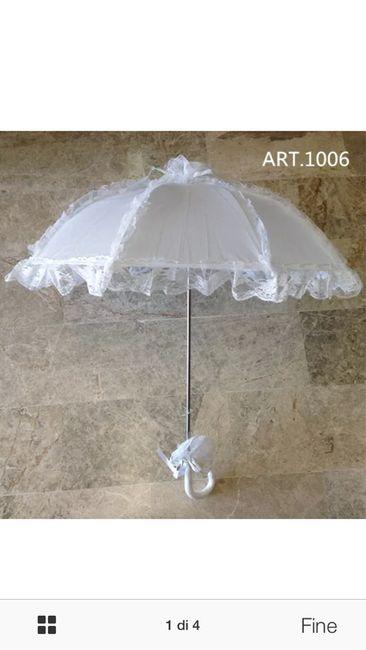 Ombrello sposa si o no? - 1