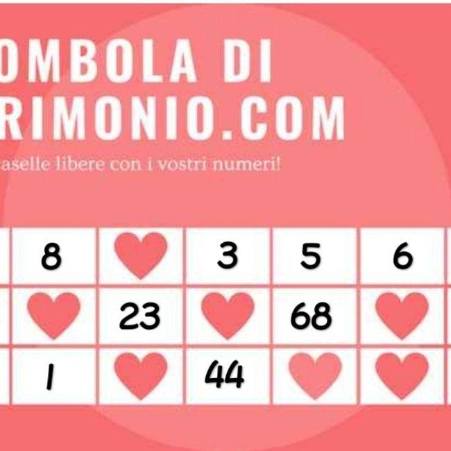 Condividi i tuoi numeri! 4
