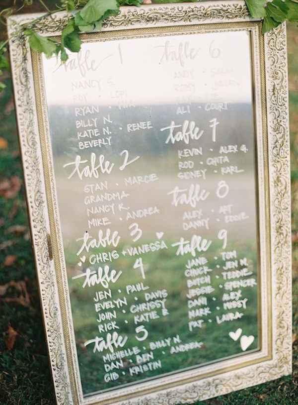 Il mio tableau mariage preferito! - 1