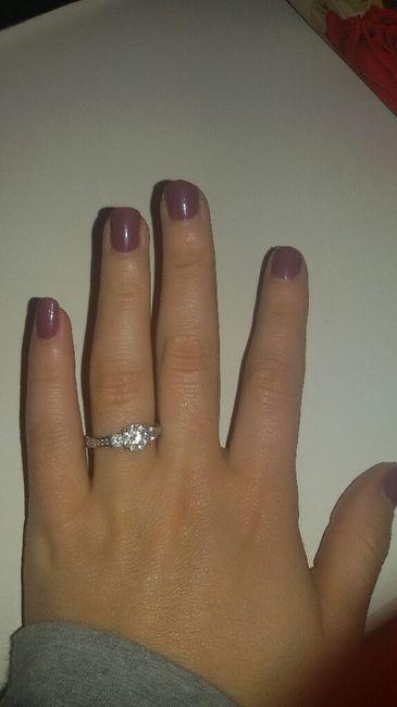 Mi fate vedere il vostro anello della proposta?? 13