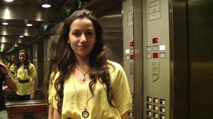 io in crociera(ascensore)