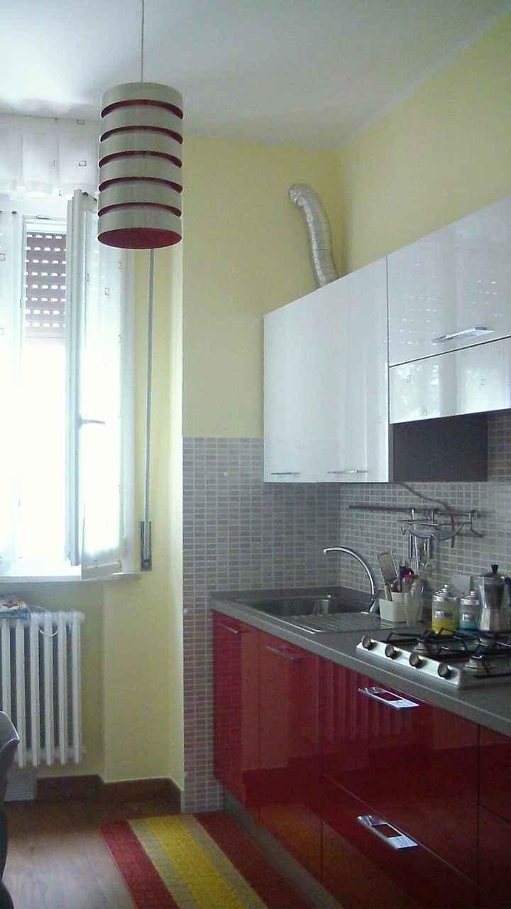 cucina e lampadario...