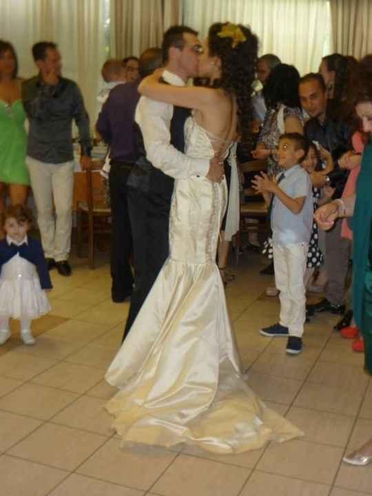 ballo sposi bacio!!