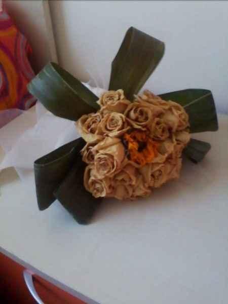 Pubblichiamo la foto del nostro bouquet seccato... - 1