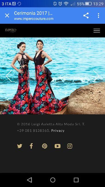timeless design c6abe f5481 Abiti Impero Couture 2016 Prezzi