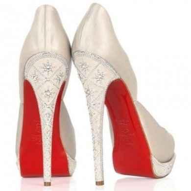 Scarpe bianche con un particolare.... - 1