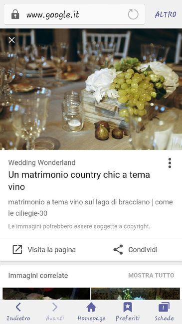Quali centro tavola x tema vino? - 1