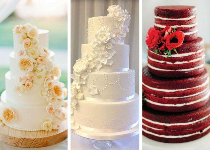 Gusti per la nostra naked cake - Ricevimento di nozze