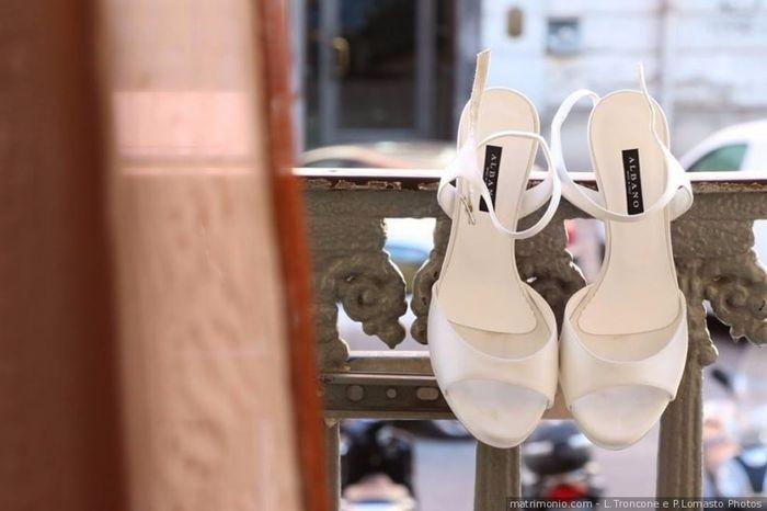 3385a4dd616d Scarpe da sposa bianche o colorate  - Moda nozze - Forum Matrimonio.com