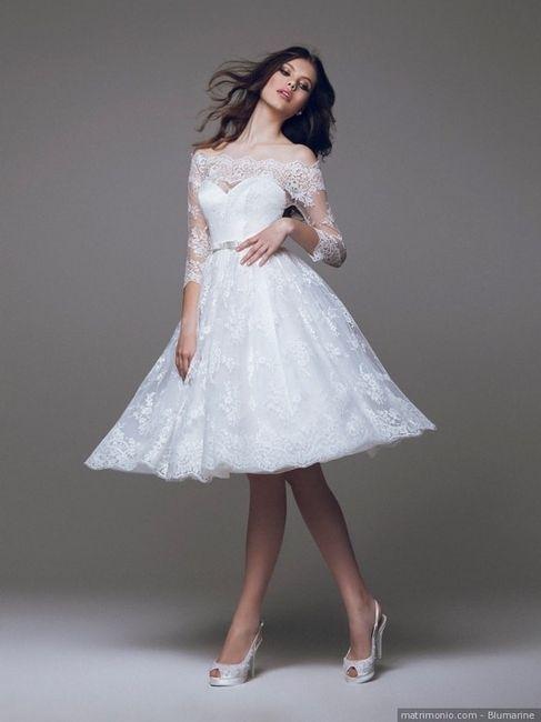 Vestito da sposa corto o lungo? 2