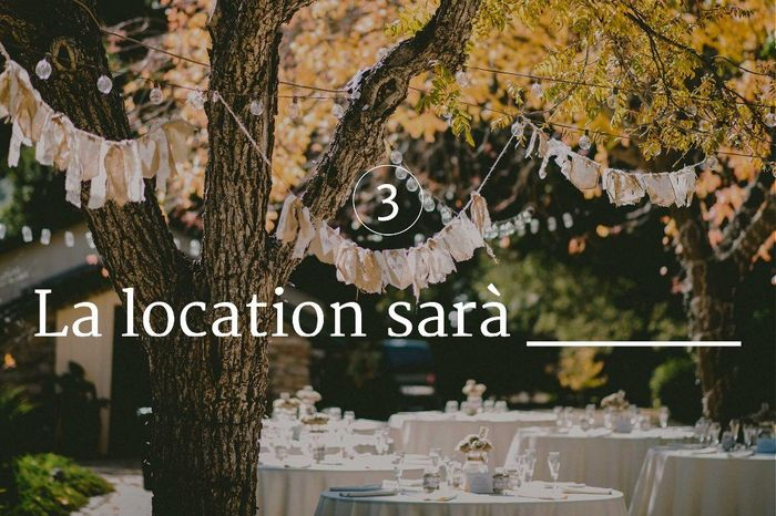 La location sarà ___ 1