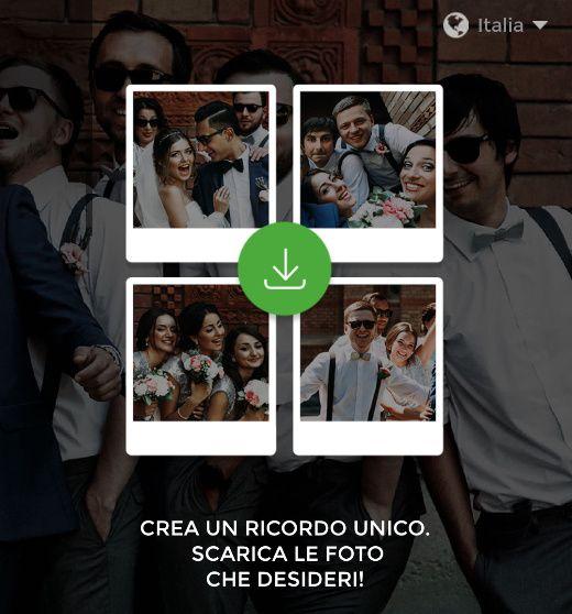 WEDSHOOTS: l'app per condividere le foto delle tue nozze! Scaricala! 3