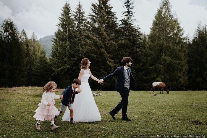 L'album fotografico del tuo matrimonio: la foto dei bambini 3