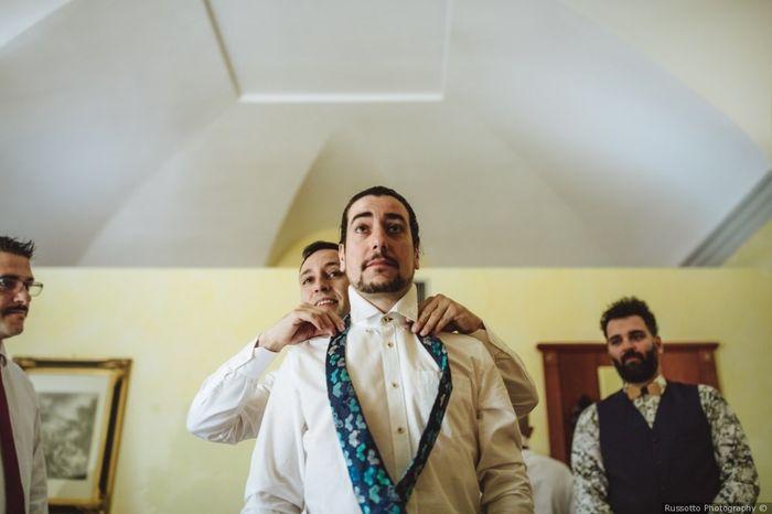 Look sposo: la foto della preparazione 2
