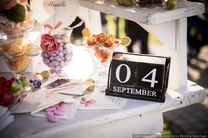 In quale giorno ti sposi? 1
