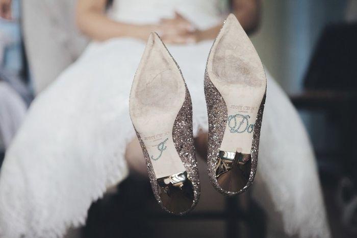 Il numero delle vostre scarpe da sposa 1