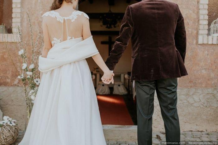 Look sposi: bianco o colorato? 1