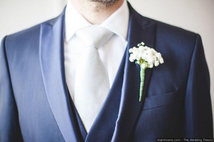 Accessorio sposo: bianco o colorato? 1