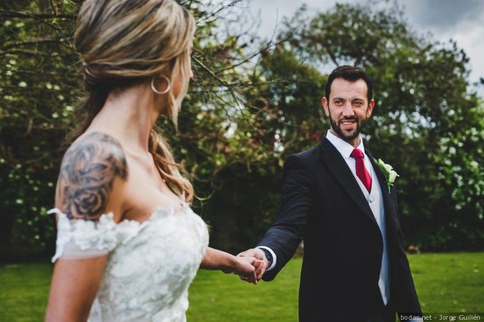 Sposa con tatuaggi: che ne dite? 1