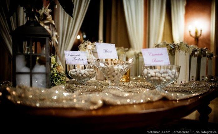 Che stile di confettata vorresti alle tue nozze? 1
