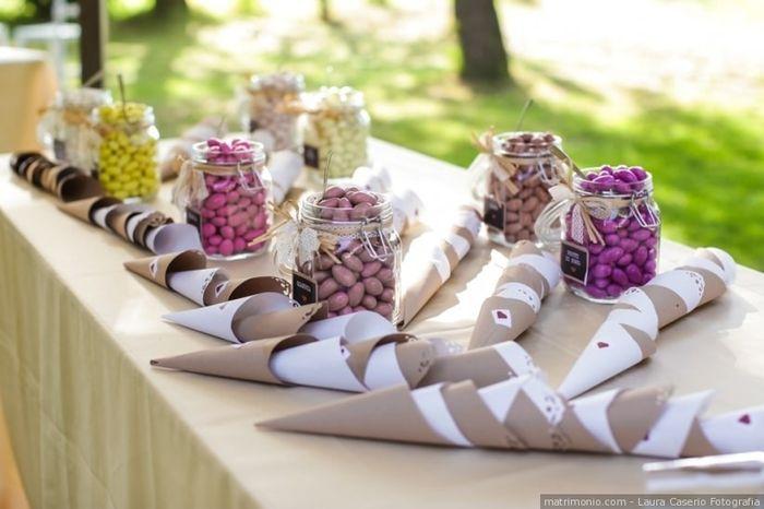 Che stile di confettata vorresti alle tue nozze? 3
