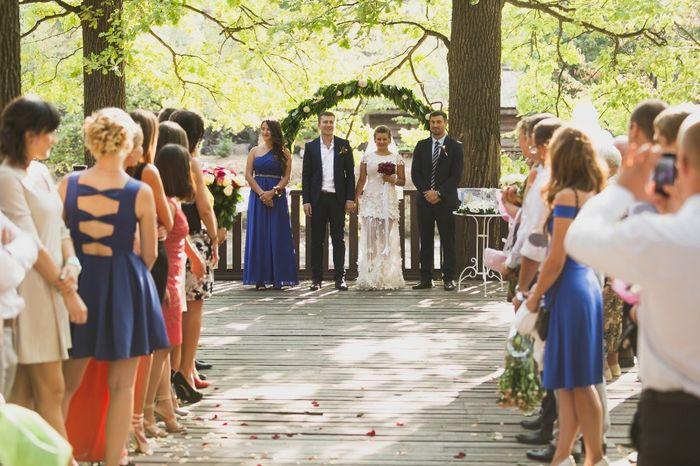 Mi piacerebbe invitare il mio ex alle nozze: V o F? 1