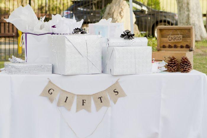 Spero che i miei ospiti saranno generosi con i regali: V o F? 1