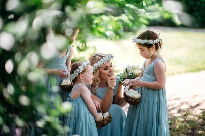 Damigelle adulte o bambine alle vostre nozze? 1