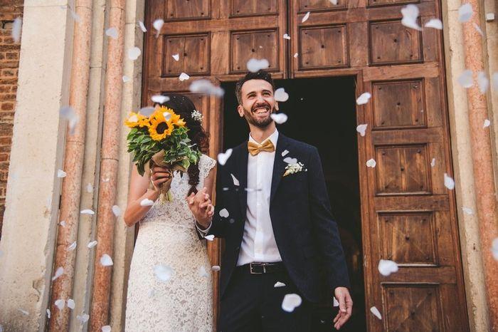 Uscita dalla cerimonia: riso, petali o altro? 1