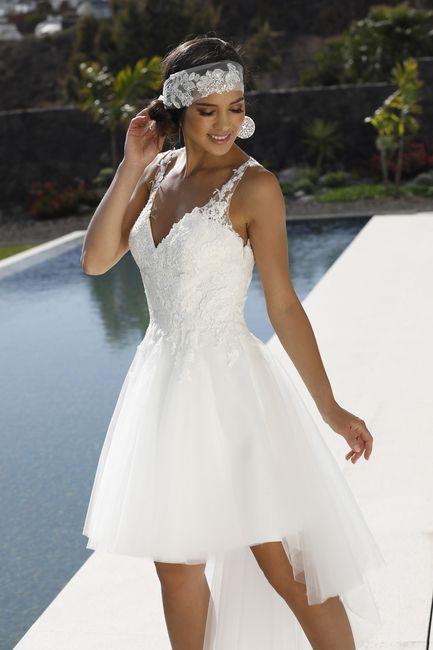 Indossereste un abito da sposa corto? 1