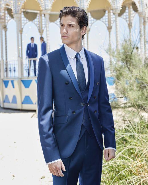 Colore abito sposa: blu VS grigio 1