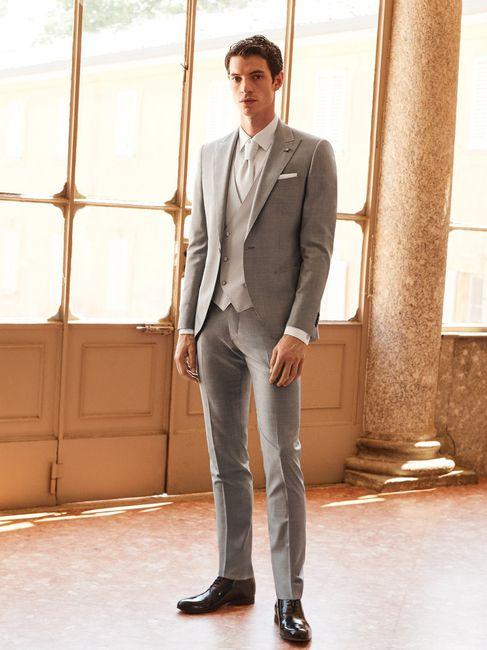 Colore abito sposa: blu VS grigio 2