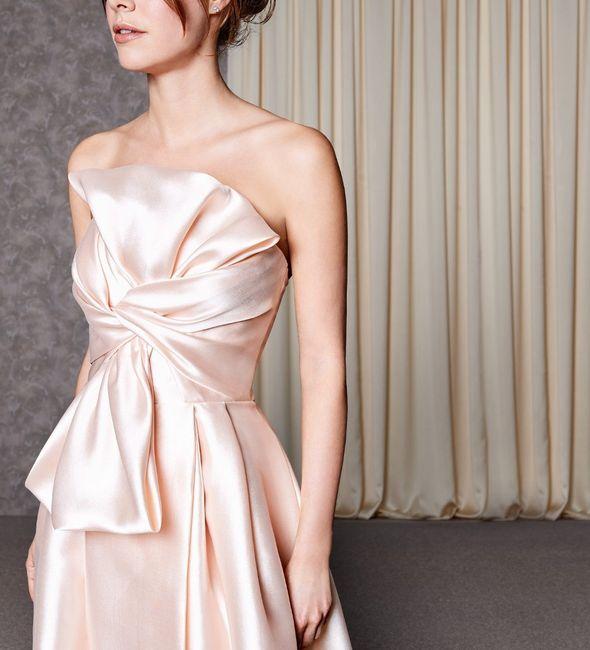 Quale tessuto preferisci per l'abito da sposa? 1