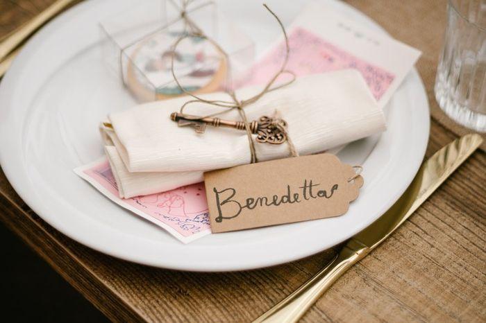 Scegli il segnaposto più adatto alle tue nozze 4