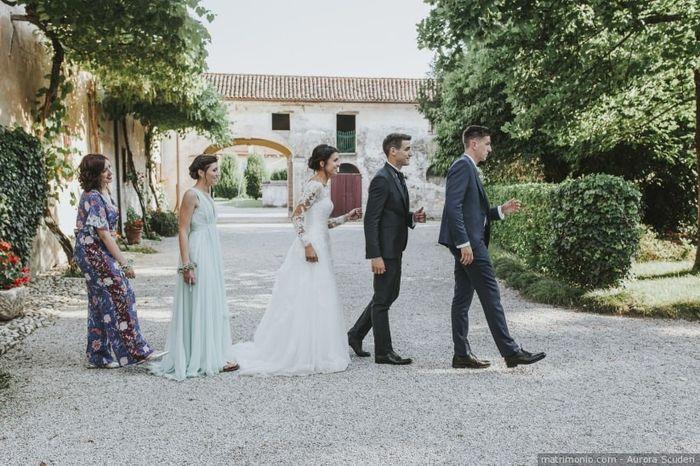 I vostri testimoni di nozze: tra chi avete scelto? 1