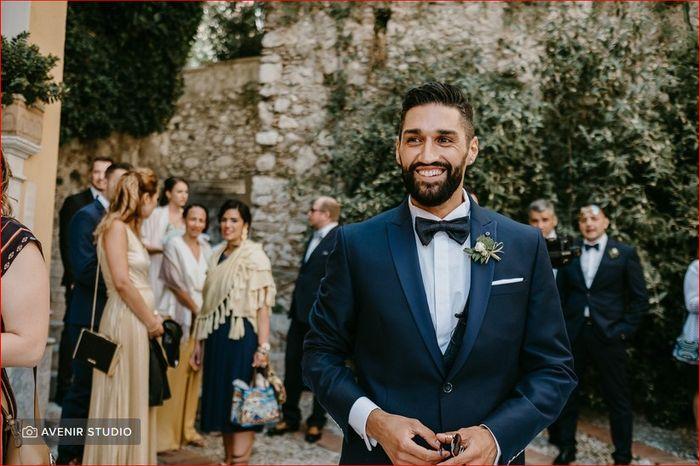 A che punteggio sei: look sposo 1