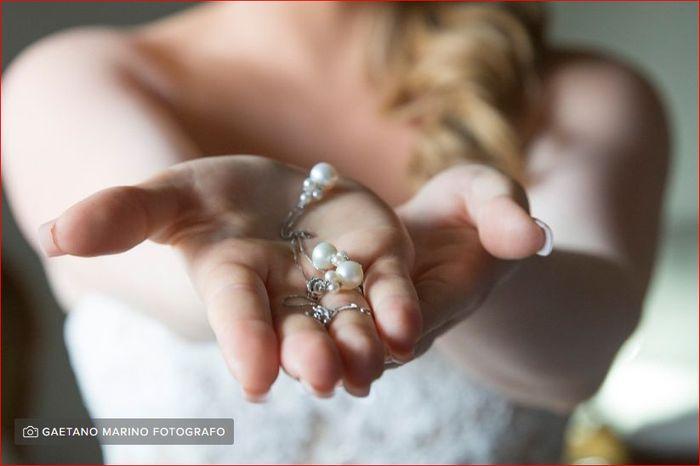 Look sposa con perle! Cosa votate? 1