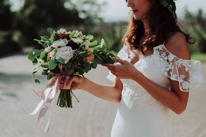 Che tipo di maniche ha il tuo abito da sposa? 1