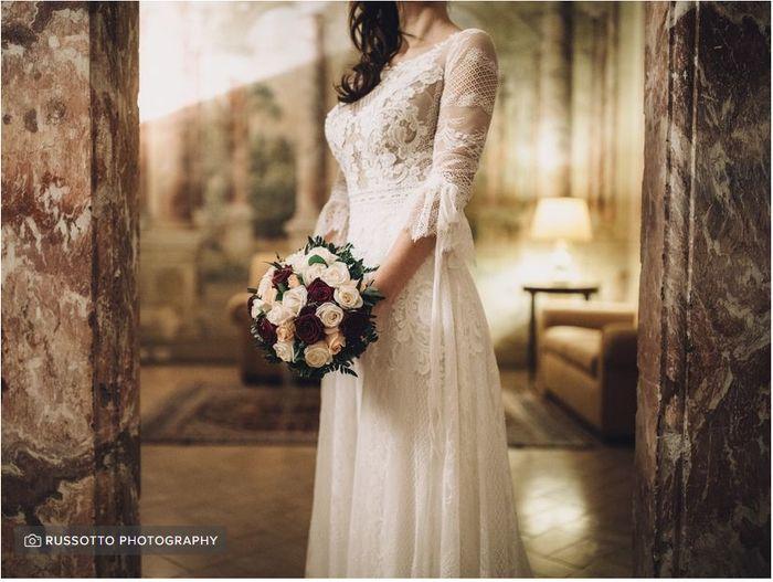 Chi vedrà il vostro abito prima delle nozze? 1