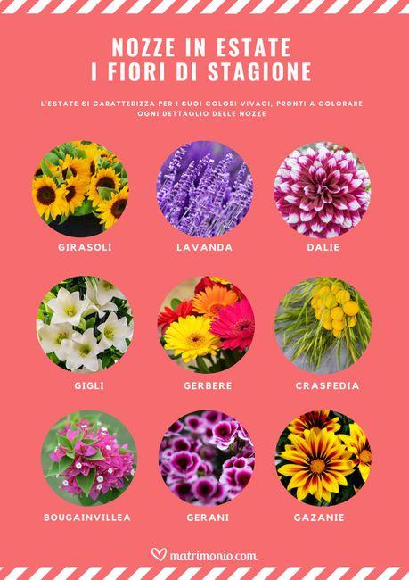 9 fiori di stagione per un matrimonio in estate 🌻 1