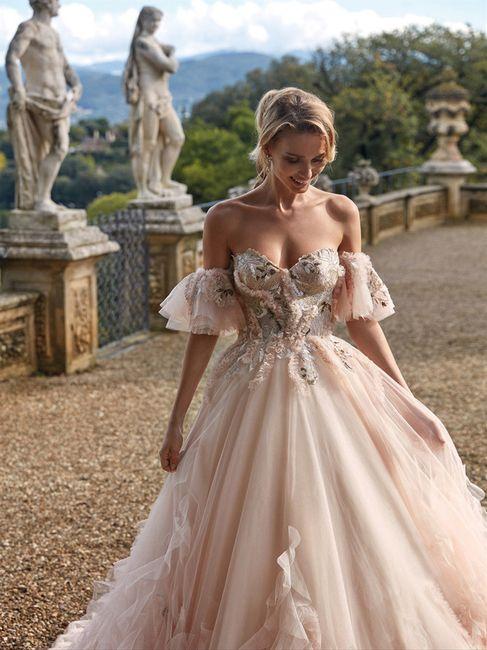1 vestito rosa per le tue nozze: lo sceglieresti? 1