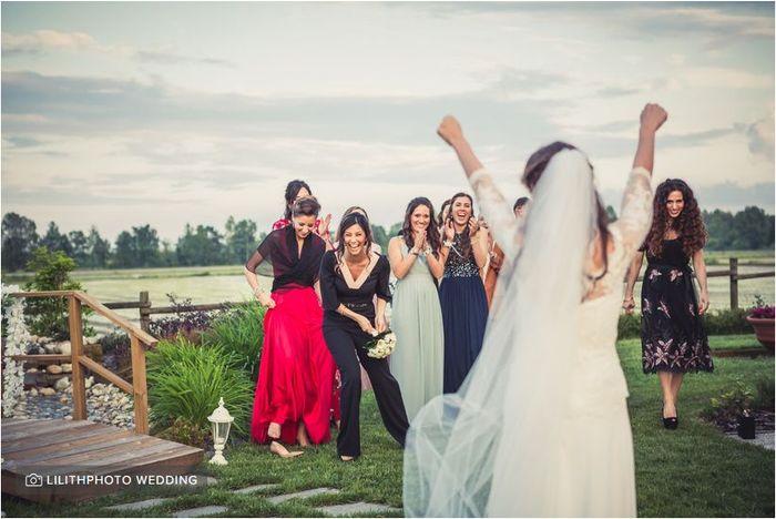 Avete mai preso il bouquet della sposa? 💐 1