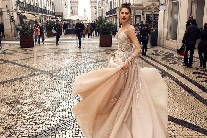 Gli abiti da sposa più scintillanti!✨ 1