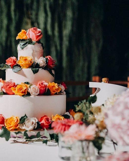 Torta nuziale: la foto con più ❤️ è... 2