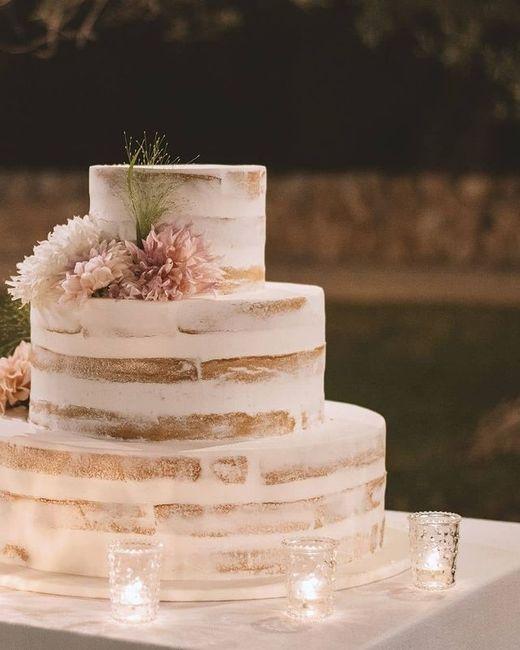 Torta nuziale: la foto con più ❤️ è... 3