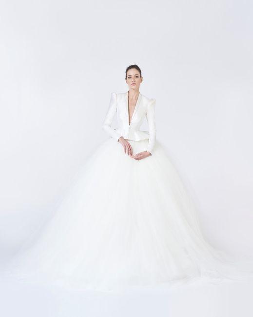 L'abito da sposa invernale 1