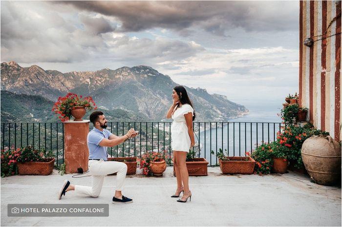 La vostra proposta è stata inaspettata? 💍 1