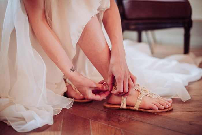 Scarpe da sposa basse: quante di voi? 1